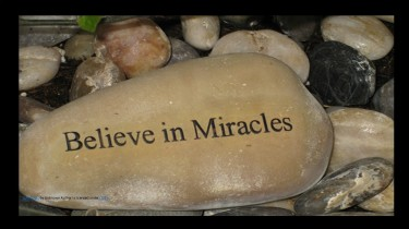 believe in miracles blog